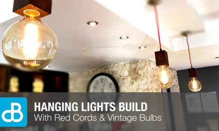 Hanging Lights with Vintage Bulbs Build
