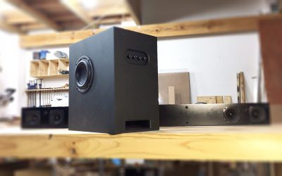 2.1 Sound Bar & Subwoofer Speaker Build with Bluetooth | PART 1