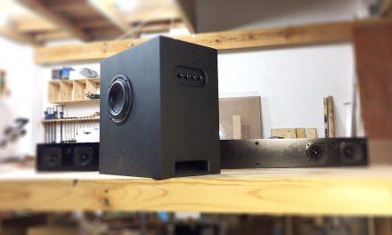 2.1 Sound Bar & Subwoofer Speaker Build with Bluetooth   PART 1