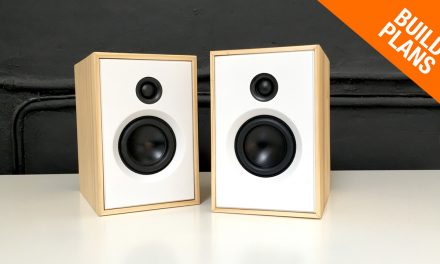 Small 2-Way Stereo SPEAKER BUILD