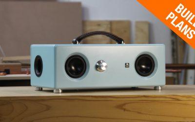 Retro Style Bluetooth Boombox SPEAKER BUILD