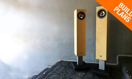 Transmission Line Speaker Build with Tang Band Drivers